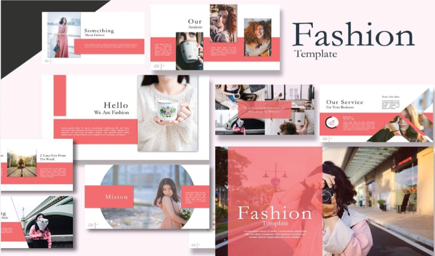 Fashion Powerpoint Templates For Trendy Marketing Ppt