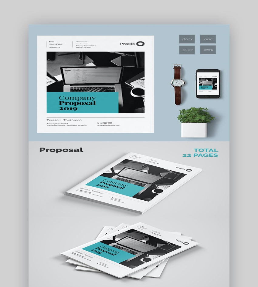 35 Best (Free & Premium) Business Proposal Templates
