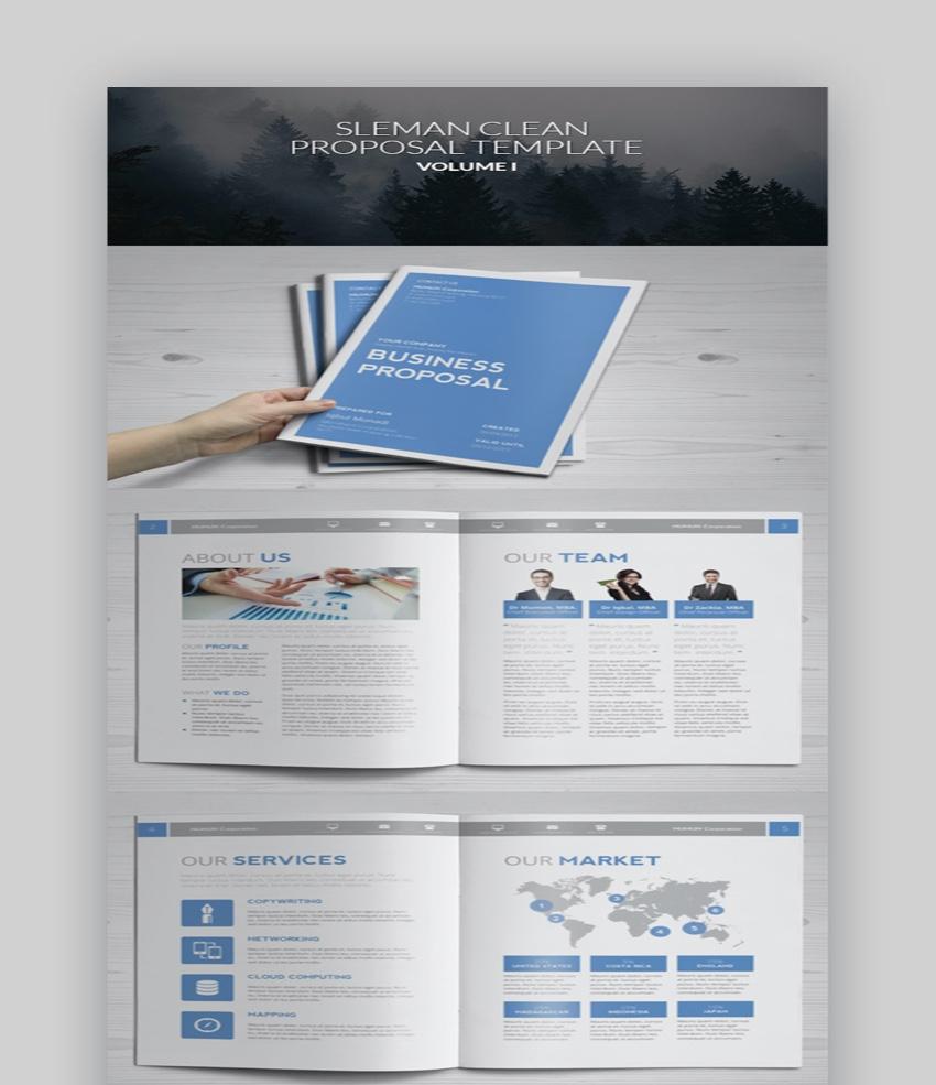 35 Best (Free & Premium) Business Proposal Templates