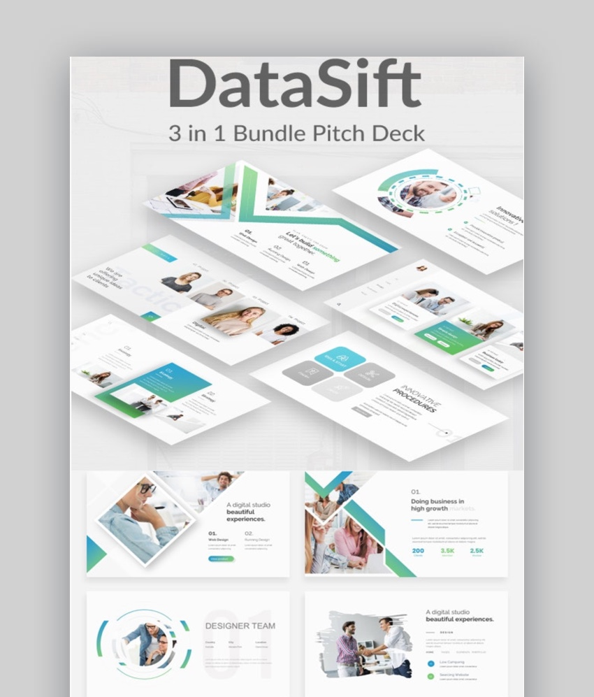 Datasift Pitch Deck