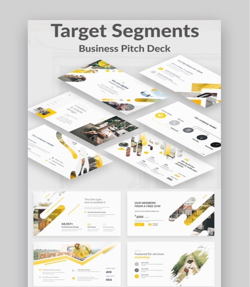 Target Segments Pitch Deck