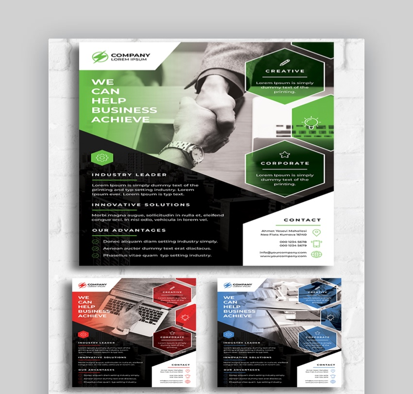 Corporate Flyer - Graphic Design Flyer