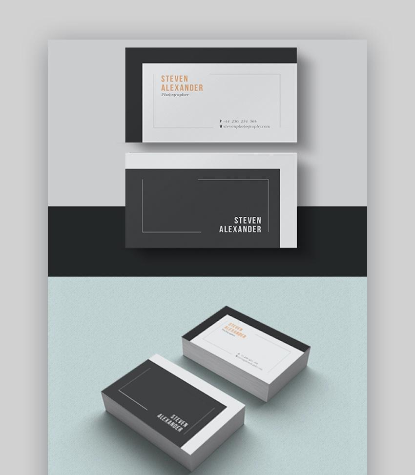 Vertical Business Card Templates