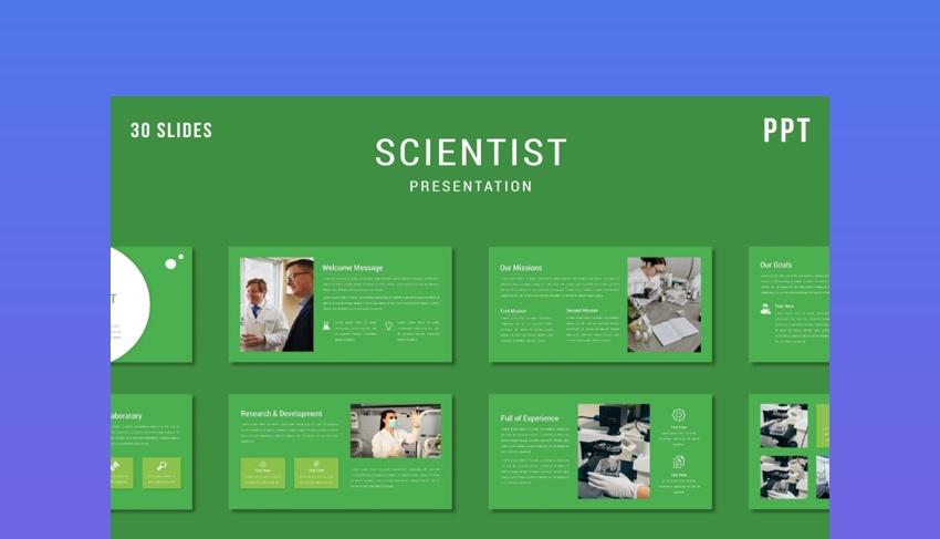 Scientist PowerPoint Template