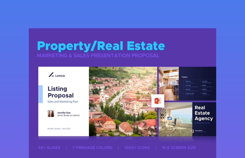 Property Marketing Sales Presentation