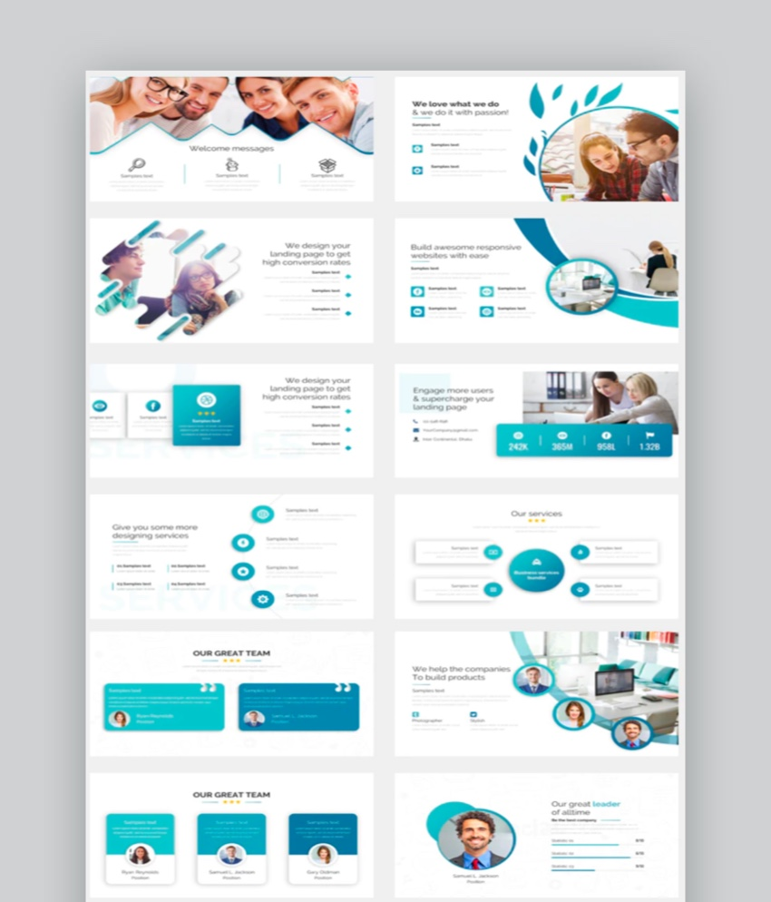 30 Best Powerpoint Agenda Slide Template Designs 2021