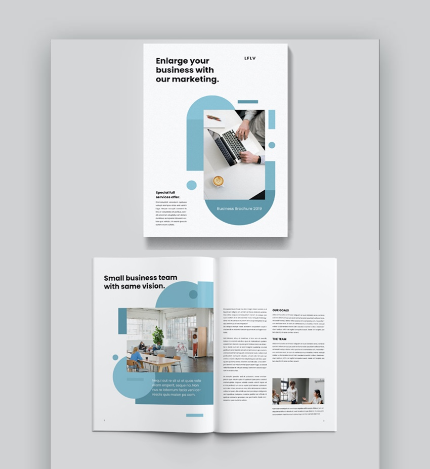 Brochure Business Template Word