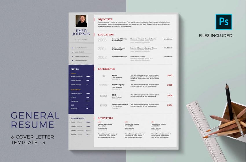 20 Free Professional Resume Cover Letter Format Templates For Jobs
