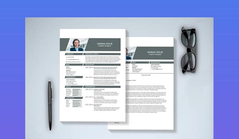 Minimal Resume Cover Letter