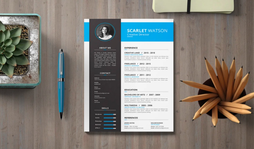 How to Write, Design, & Make a Simple Pro Resume Quickly with...