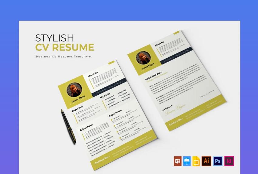 Stylish CV  Resume