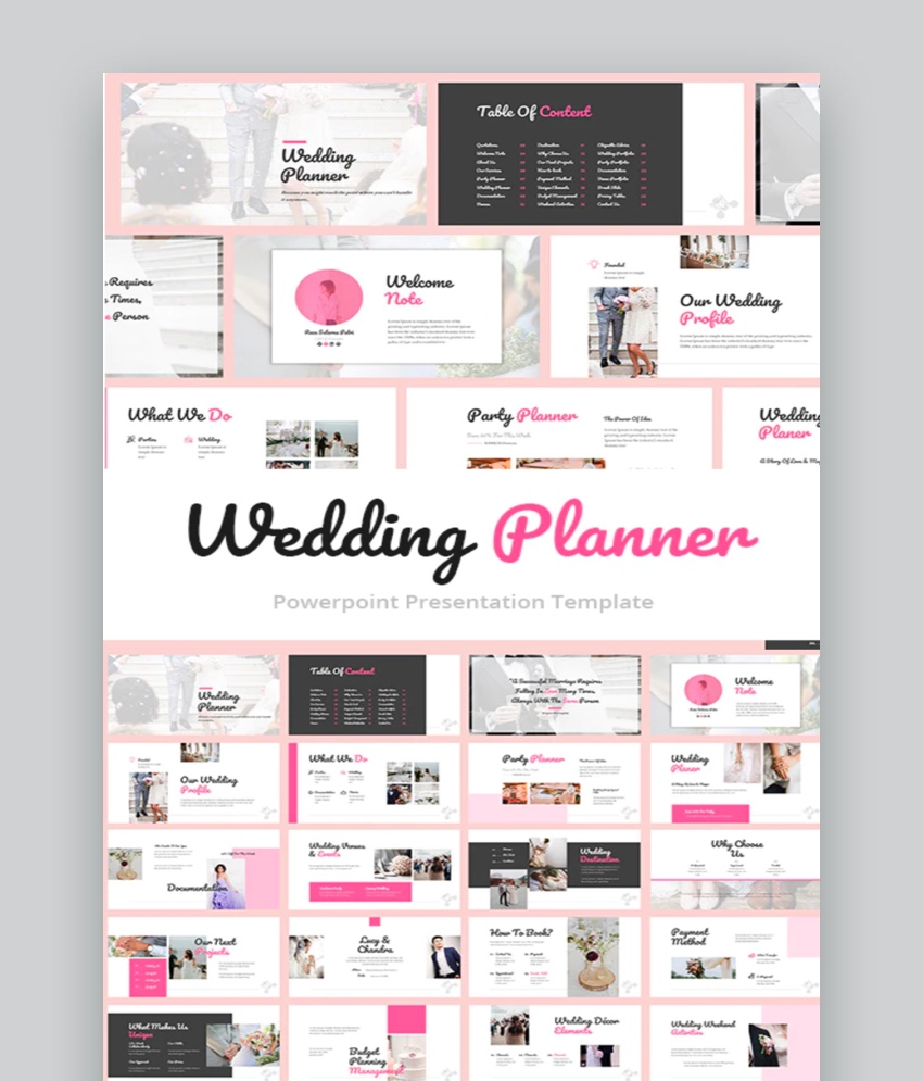 Wedding Organizer PowerPoint Template