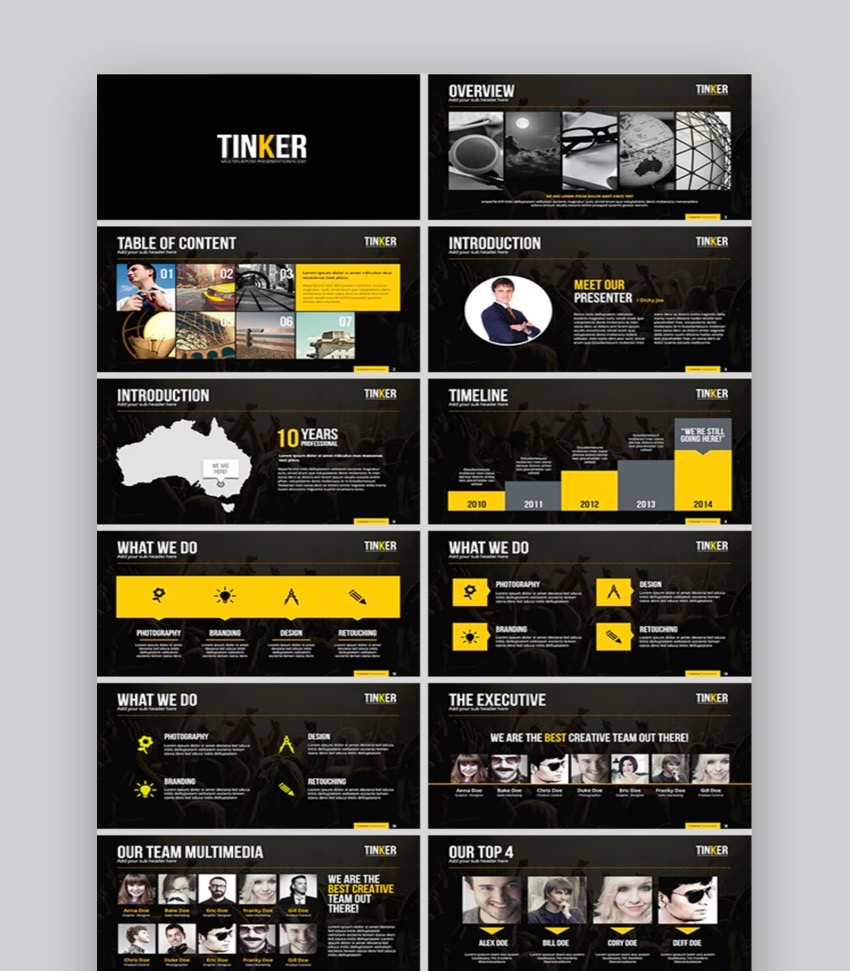 Tinker PowerPoint Template