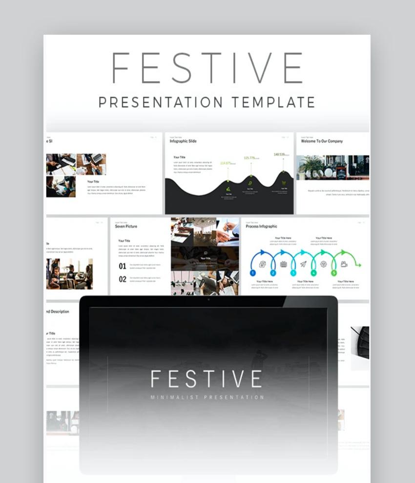 Festive PowerPoint Template