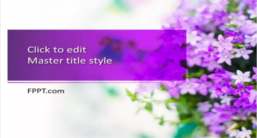 Lilac - A Free Beautiful PowerPoint Template