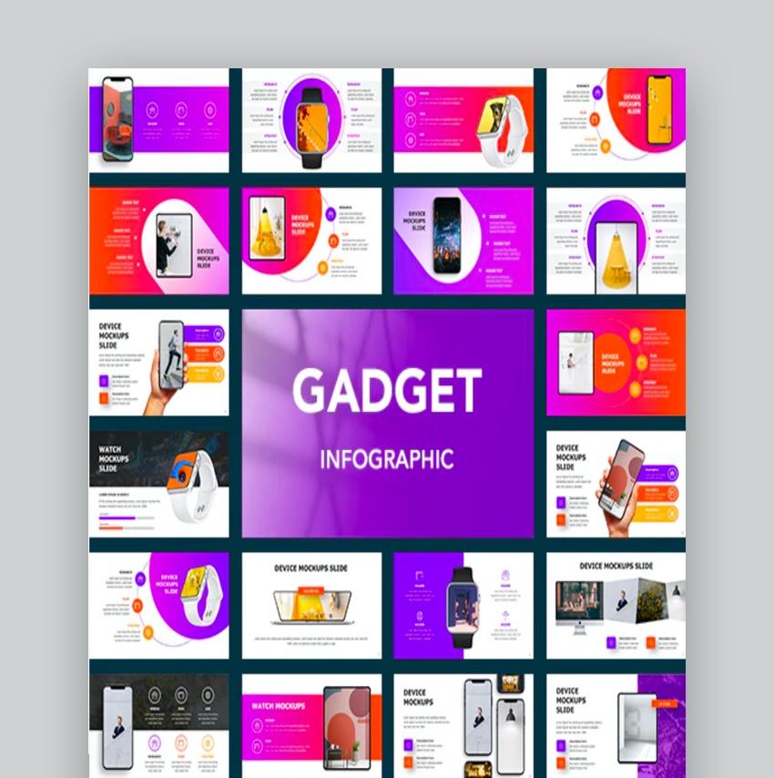 Gadeget Infographic