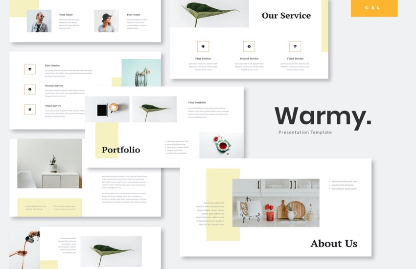 Warmy Premium Template