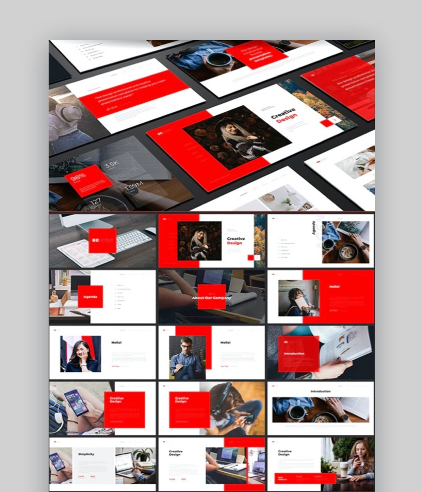 Beyond Multipurpose PowerPoint Template