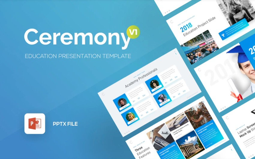 Ceremony CV PowerPoint Template