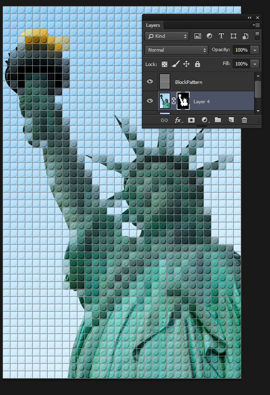 how to make a photo into multicolour art in photoshop