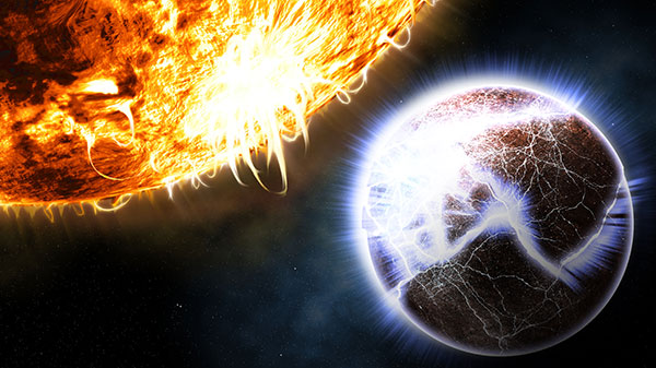 Final Exploding Planet image