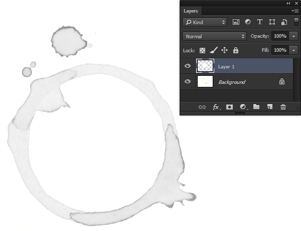 Copy to a new layer and desaturate
