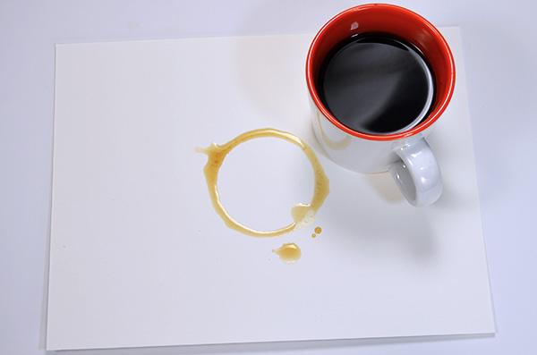 Move the mug for additional rings
