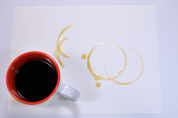 Adding vareity to the coffee rings