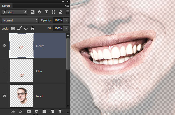 Create a Mouth Layer