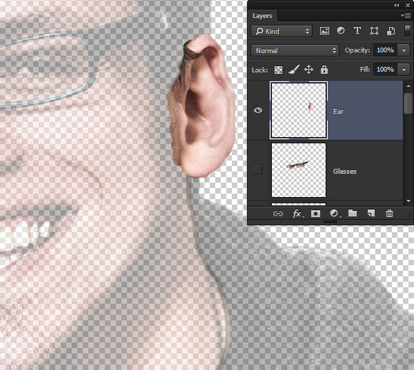 Create the ear layer