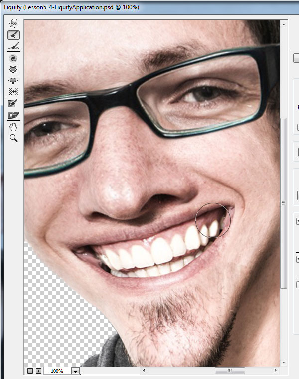 how to create vampire teeth in photoshop