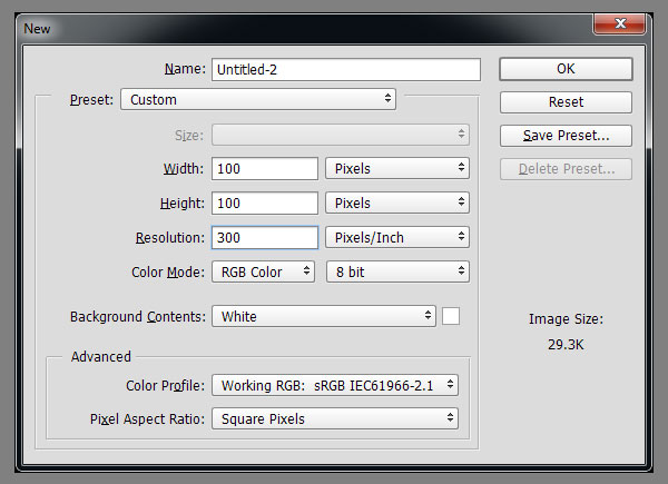 how to use brush presets in photoshop cc