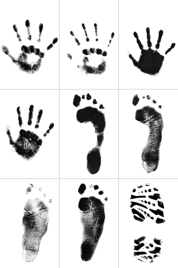 Hand and Foot Print Brush gallery