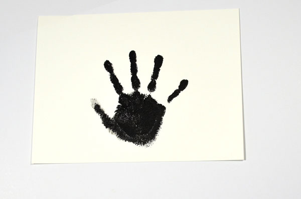 A fuller style hand print