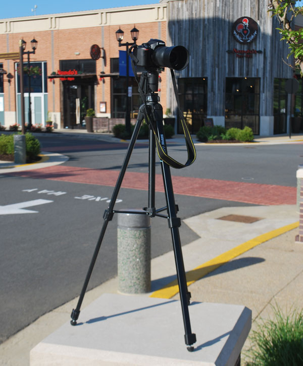 Use a tripod to keep the images stable easy to align