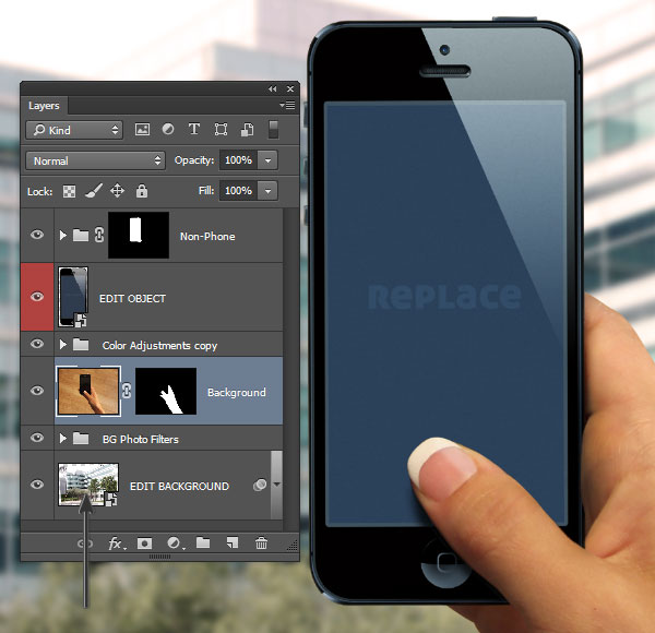 Double click the layer thumbnail to open the Smart Object