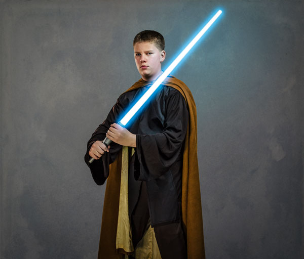 Photoshop for Kids: Jedi Me!