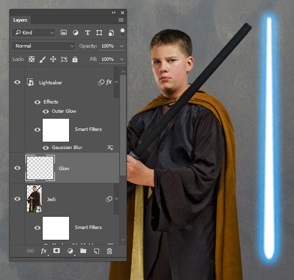 Add a new Glow layer