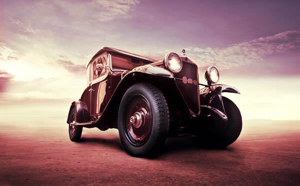 Vintage car stock