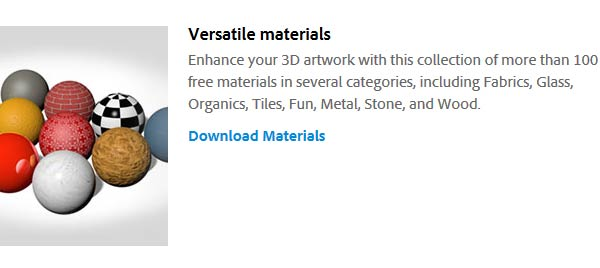 Install the added shaders from Adobe