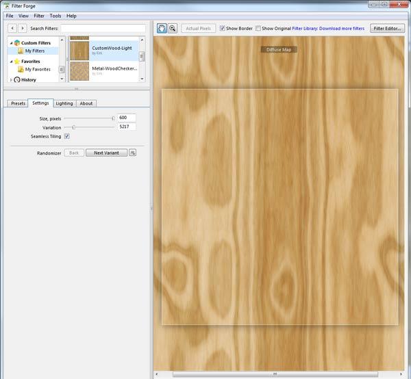 Wood Diffuse Map