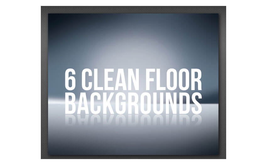 Clean Floor Reflective Background
