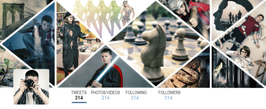 How to Create a Multi-Image Twitter Header Image With Adobe Photoshop