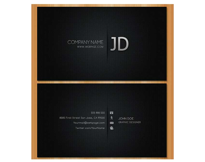Blackish Business Card by vglenngoh