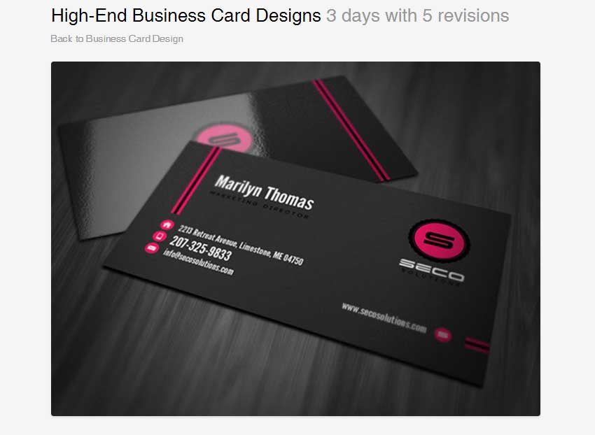 High-End Business Card Designs by Chathurangack