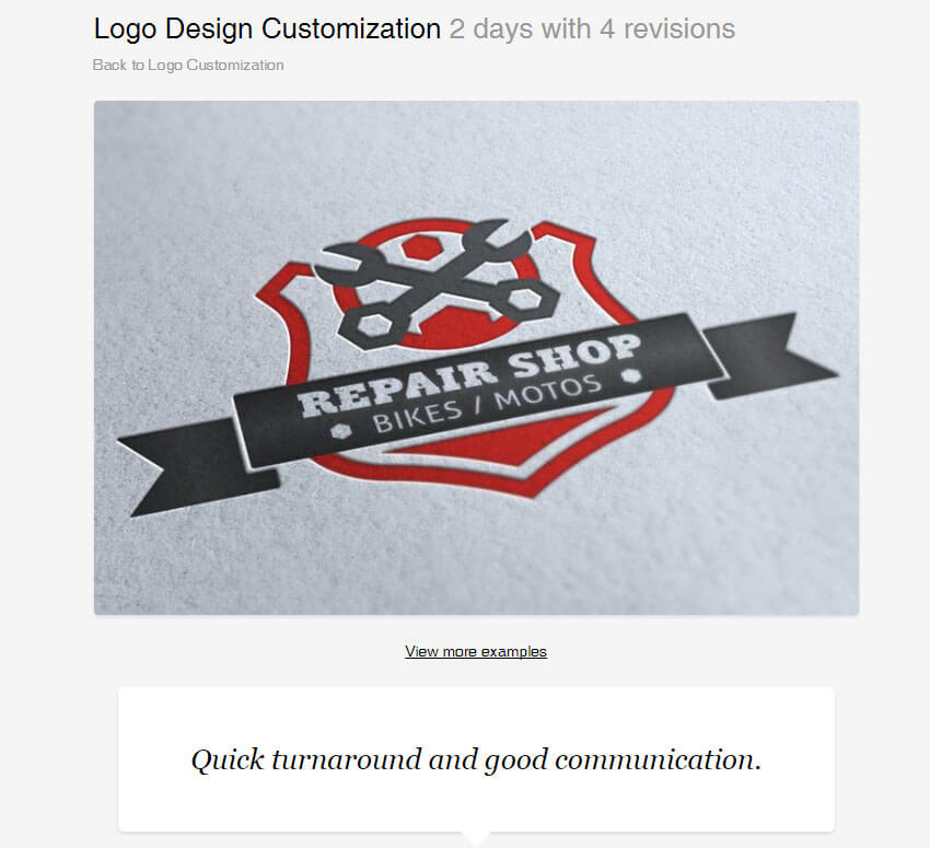 Logo Design Customization by HollyMolly
