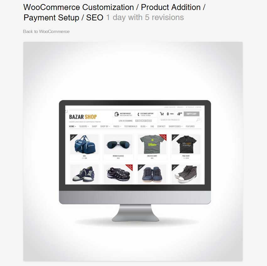 WooCommerce Customization  Product Addition  Payment Setup  SEO by childtheme