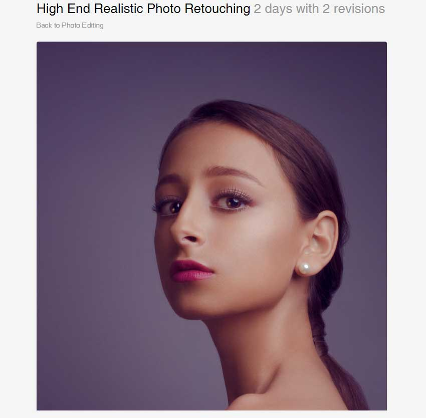 High End Realistic Photo Retouching by johnsoko