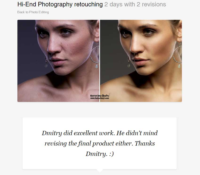 Hi-End Photography retouching by dmitroza