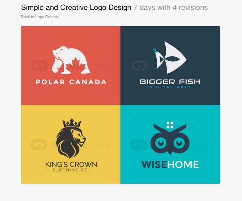 Simple and Creative Logo Design by GenesisDesigns